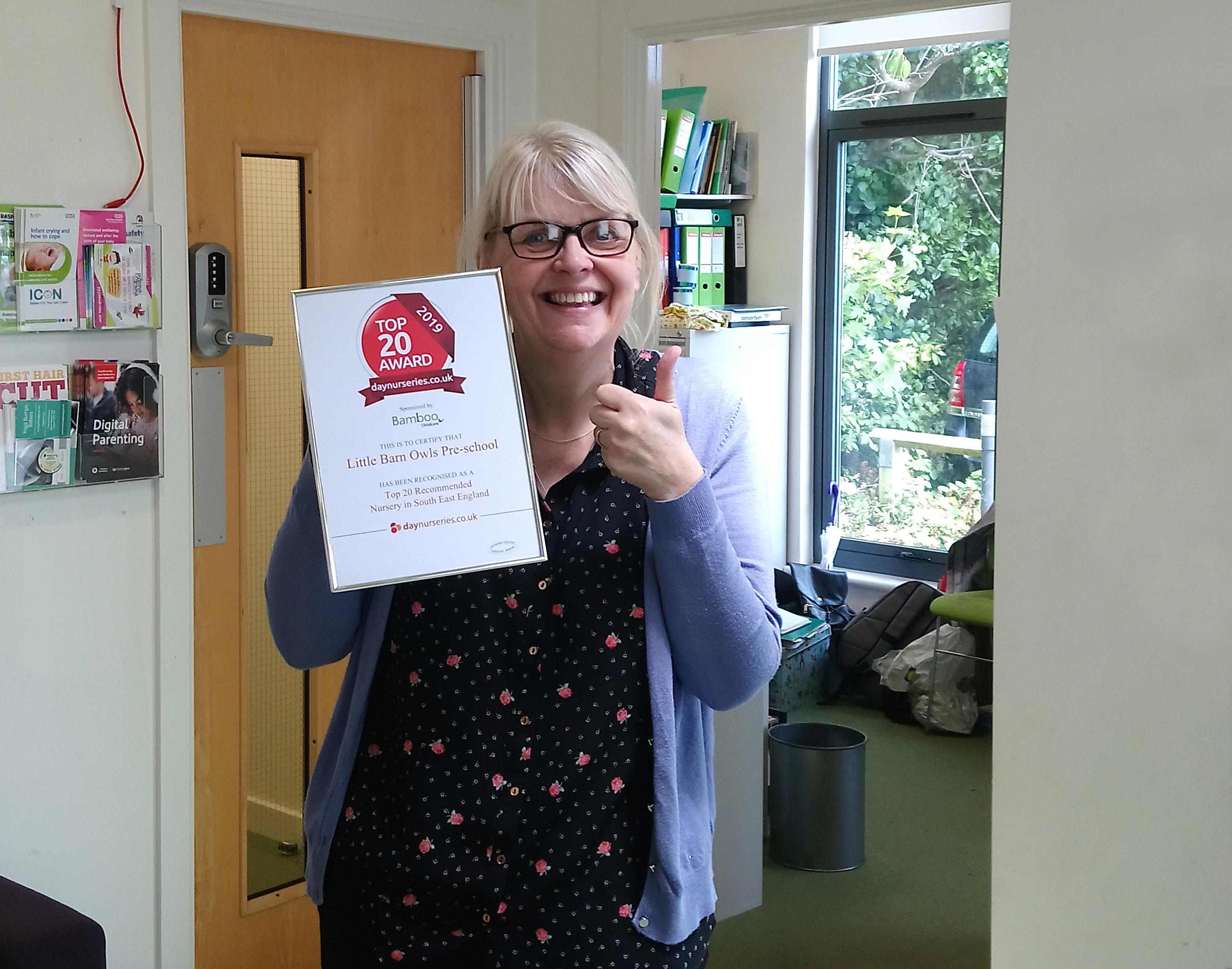 Little Barn Owls Award